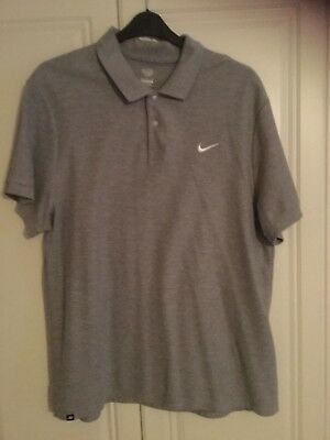 Mens grey nike polo top size xxl great condition only worn once