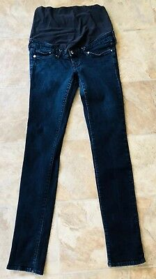 H&M Maternity High Rib Denim Jeans Size 8