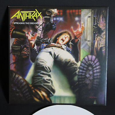 ANTHRAX - Spreading the Disease LP Gatefold 180gr.White Vinyl / exodus testament