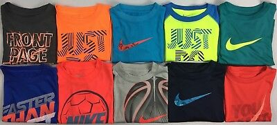 Toddler Boy's The Nike Tee Dri-Fit Polyester Shirt