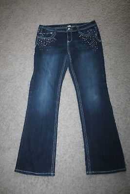 justice bling simply low jeans 18R