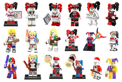 Harley Quinn Minifigure Suicide Squad Series Collectible Joker Building Toys