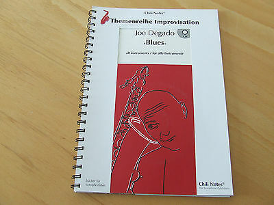 Joe Degado Blues all instruments/für alle Instrumente mit CD