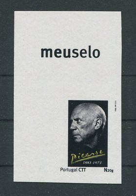 PORTUGAL PRIVAT-MARKE PABLO PICASSO PAINTER CUSTOM STAMP ONLY 10 MNH !! h1729