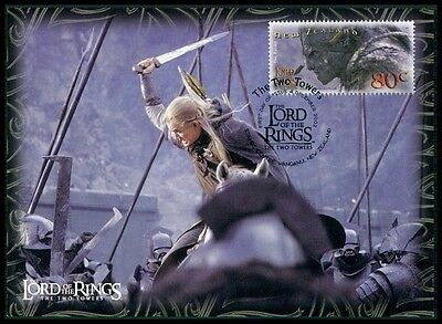 NZ MK HERR DER RINGE / LORD OF THE RINGS 2 TOWERS CARTE MAXIMUM CARD MC CM m431