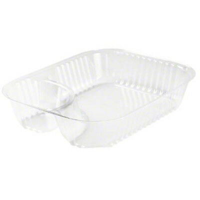 Dart® ClearPac® Container - Large Nacho Tray, Clear (Case of 500)