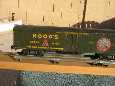 """HOODS DAIRY HOOD'S 13 """" CAR  VINTAGE pre war ? worldwide shipping WOOD CHASSIS"""