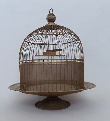 Antique Vintage Hendryx Style Domed Bird Cage House