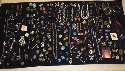 HUGE Lot Of Misc Jewelry Zuni Vintage Sterling Silver Gold SEE DESCRIPTION