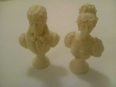 Pair RESIN busts