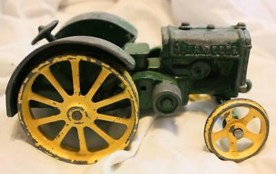 Antique John Deere Model D Cast-Iron 1/16 Scale Tractor - EXCELLENT USED TOY!!