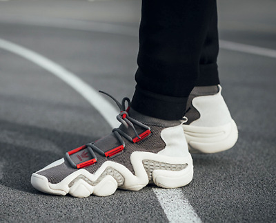 save off 10bd8 abe18 Adidas Crazy 8 A D PK Consortium Parallel Dimension Dark Gray Red White  CQ1869
