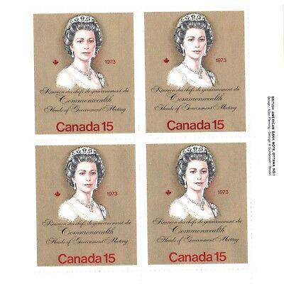 Canada Stamp #621 - 1973 Royal Visit & Commonwealth Heads of Government Meeting