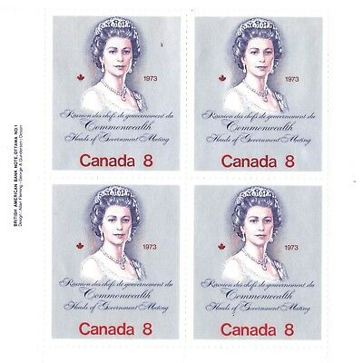 Canada Stamp #620 - 1973 Royal Visit & Commonwealth Heads of Government Meeting