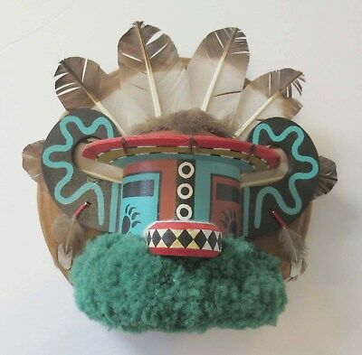 Native American Indian Badger Kachina by Tsongomole, Hopi Tribe