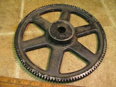Martin C12120 14 1/2 Degree 120 Tooth Spoked Spur Gear Plain Bore