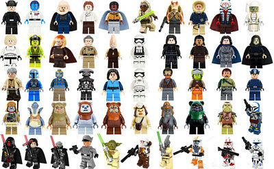 Naare Shaak Ti Minifigure Dengar Watto  Inquisitors Clone Trooper Building Toys