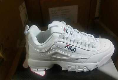 Fila Men's Disruptor II 2 Sneaker White 100% Originals
