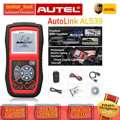 Autel AL539 OBD2CAN Car Fault Code Reader Auto Scan Electrical Circuit Test Tool