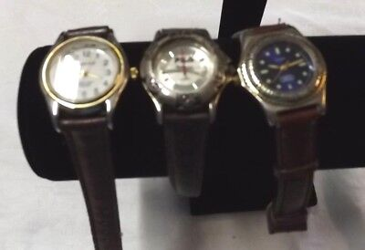 ***Vintage Watches Lot of 3 Quartz*** Currently Working