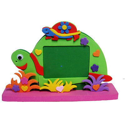 3D Tortoise Baby Photo Frame  Stickers Children's Best DIY Educational Toy Gift