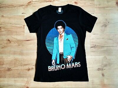 NEW Bruno Mars Authentic 2013 Moonshine Jungle European Tour Shirt Women Size L