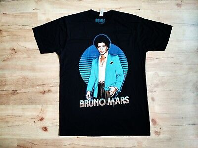 NEW Bruno Mars Authentic 2013 Moonshine Jungle European Tour Shirt Men's Size L