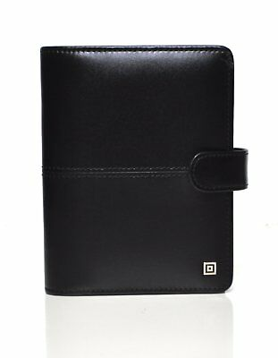 Time/system Milano Partner Schwarz Ringbuch 13mm Junior Organiser Leder 58211