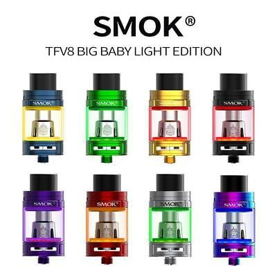 Authentic SMOK TFV8 Big Baby Beast Atomizer LED LIGHT Edition  5ml Vedampfer