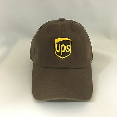 UPS Dad Hat Cotton Adjustable United Parcel Service Ball Cap One Size Fits Most