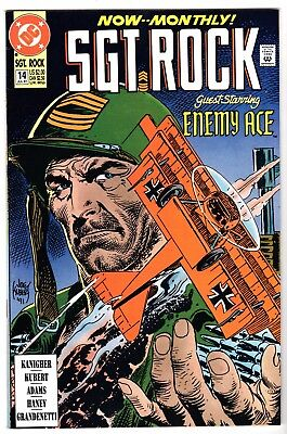 Sgt. Rock Special #14 Featuring Enemy Ace, Near Mint Minus Condition'
