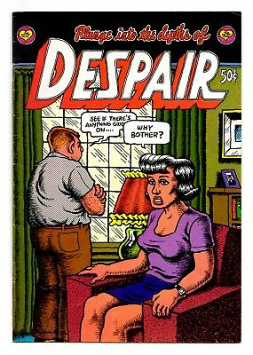 "Despair 1st Printing 1969 / Great Robert Crumb! ""Why Bother?"" Indeed! / VG+ 4.5"