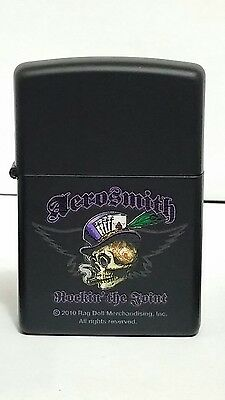 Zippo Aerosmith Black Matte Finish  Lighter 0271 218 rock 2012 old stock NEW