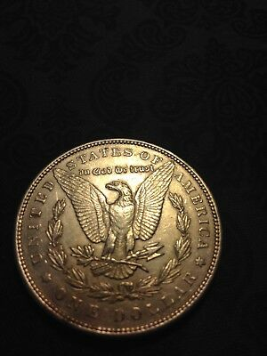 1896 Morgan Silver Dollar Almost Uncerculated