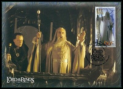 NZ MK HERR DER RINGE / LORD OF THE RINGS 2 TOWERS CARTE MAXIMUM CARD MC CM m432