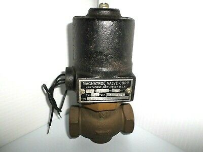 "*NEW* Magnatrol 18A23 Solenoid Valve 50psi 120V 60 Cycle 25W 3/4"" NPT"