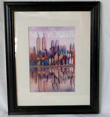 THE NEW YORKER MAGAZINE, SEPT. 15, 2003 ISSUE, Cover Matted Framed