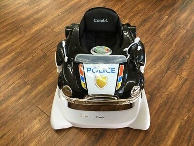 Combi All in One Activity Walker Black Police Car Brand New 5310028