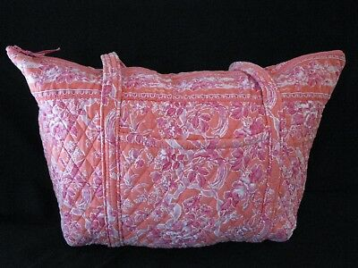 Vintage Vera Bradley Hope Toile Miller Bag Travel Weekend GUC
