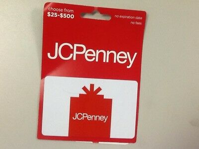 JCPenney $75 gift card