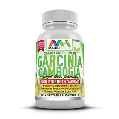 Garcinia Cambogia Weight Loss Pills 60 Vegetarian Capsules by Maubi Health