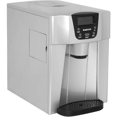 Igloo Countertop Ice And Water Dispenser, Silver - ICE227