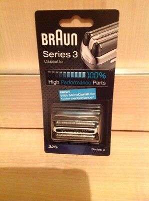 Genuine Braun 32S Series 3 Electric Shaver Replacement Foil and Cutter Cassette