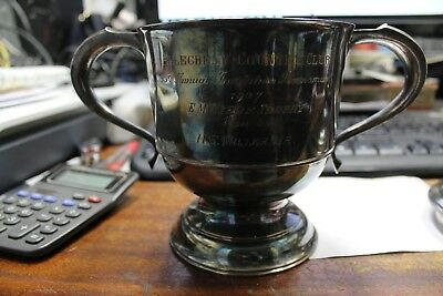 US Golf Trophy - 630 grams - Sterling Silver - Maker LAC - Made in England