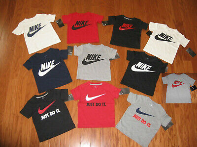 Nike Short Sleeve T-Shirt Boys Size 2T / 3T/ 4T /4/ 5/ 6 / 7 Nwt