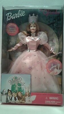 MIB 1999 Barbie As Glinda The Good Witch From The Wizard Of Oz Collectible Doll