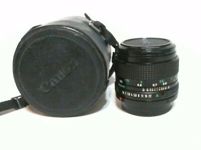 Canon 50mm f/1.4 FD Mount Lens Mint Condition 90%