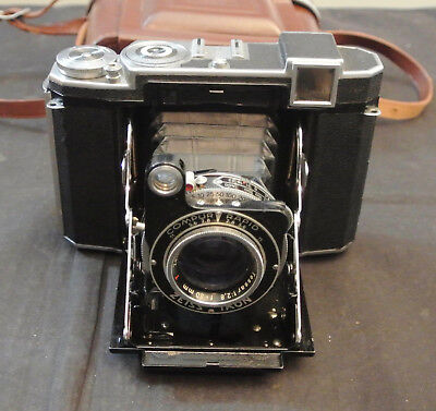 ZEISS IKON SUPER IKONTA 532/16 CAMERA, COMPUR RAPID TESSAR 1:2,8 f=80mm