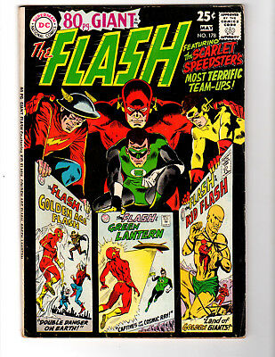 The Flash #178 (Apr-May 1968, DC). 80 PAGE GIANT. GD/VG