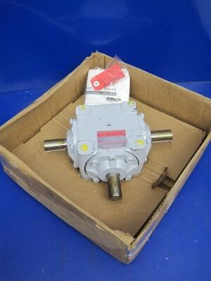 Boston Gear R1215 R1000 Series Bevel Gear T Drive 1:1 Type-D 31.15 Input HP